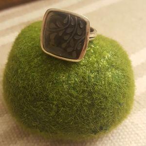 Classic Silpada Ring Dark Gray